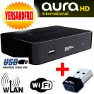AuraHD TV International mit W-LAN Wi-Fi Stick ohne ABO